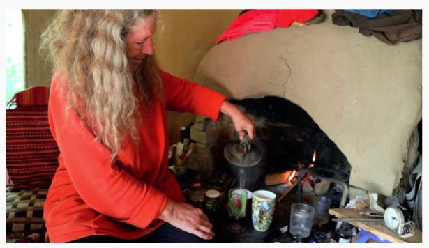 yurt woman